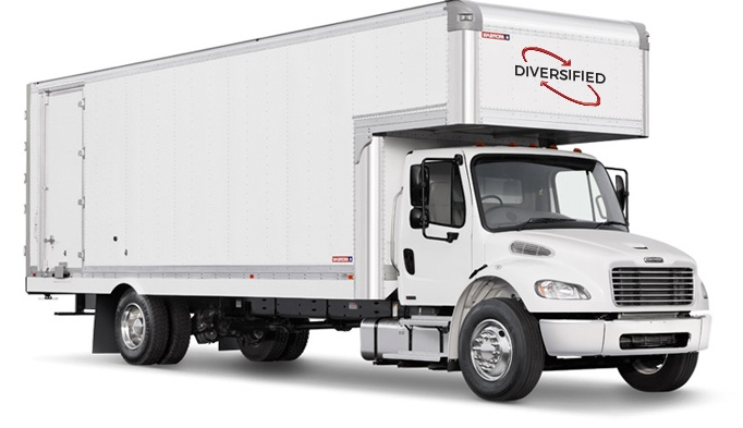 Diversified, Inc. truck