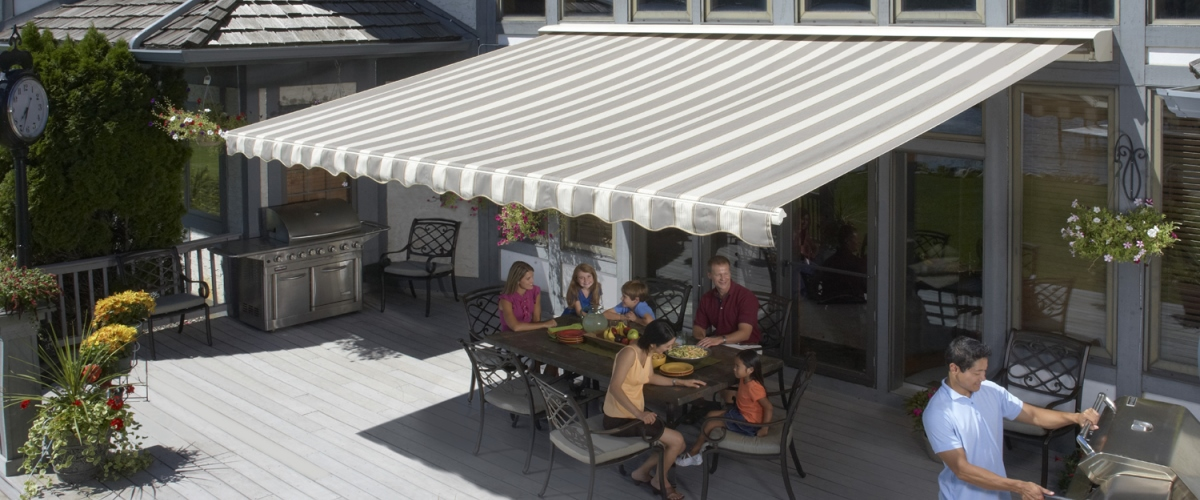 color awnings sunsetter sun setter awning choices